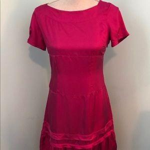 GAP 100% Silk Drop Waist Dress